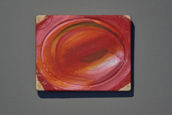 Howard Hodgkin  Keepsake, 1996-99 (Revised 2005)  oil on wood  33 x 38.2 cm