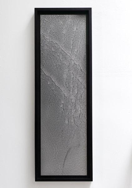 Susan Derges River Taw (Leat 2), 1997 unique gelatin-silver print 154 x 52 cm (framed) 60 5/8 x 20 1/2 in (framed)