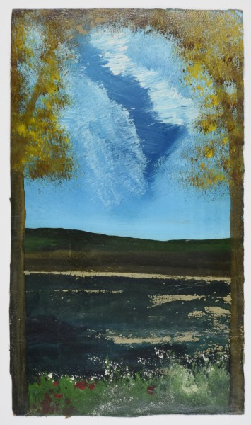 Frank Walter, Two Trees on a Summers Day