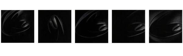 Dark Light I, II, III, IV, V, 2007