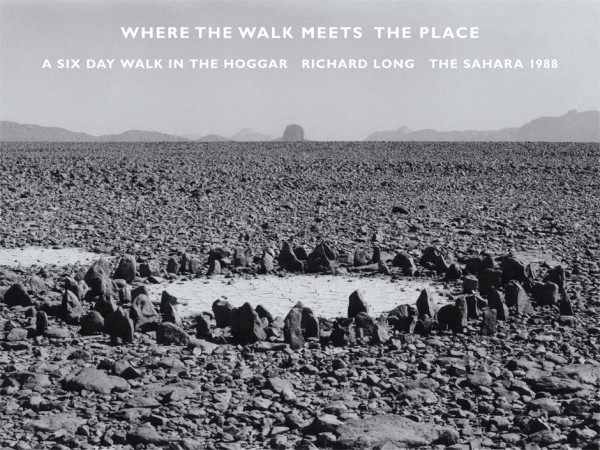 Richard Long, Where the Walk Meets the Place, 2015