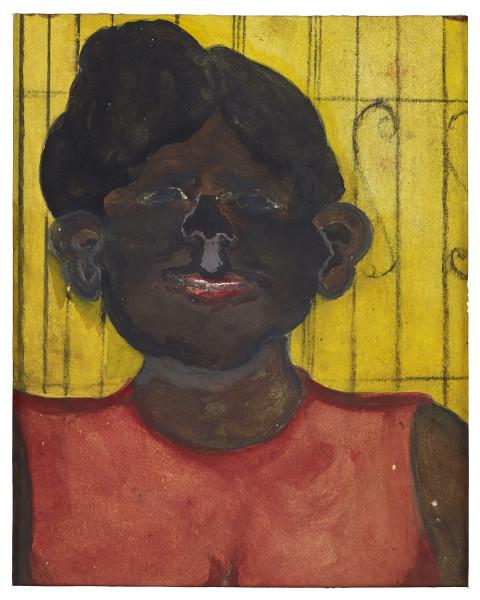 Frank Walter, Girl in Red Dress