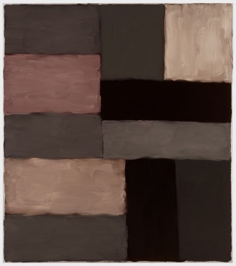 Sean Scully, Wall of Light Grey Pink, 2010