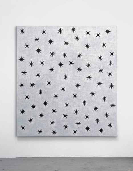 David Austen Black Stars, 2007 Oil on flax canvas 167.6 x 152.4 cm