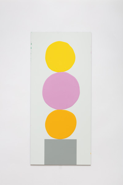 David Batchelor Multi-Colour Chart 40, 2018 gloss and spray paint on Dibond 53.5 x 25 cm