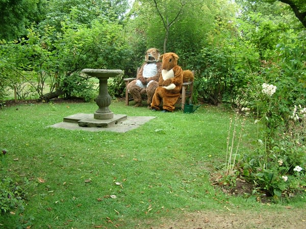 Peter Liversidge, Festival Proposals - Proposal No 68 (Woodland Creatures), 2006