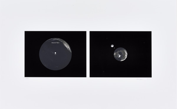 Katie Paterson, Second Moon, 2014