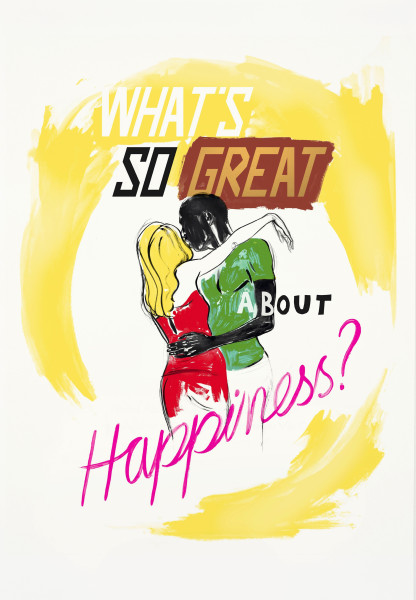 Charles Avery, What's so great about happiness?, 2014