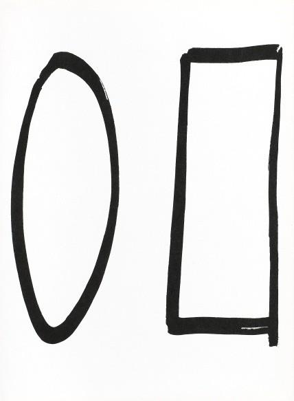 Ellsworth Kelly, Untitled - (from Derrière Le Miroir No.149), 1964