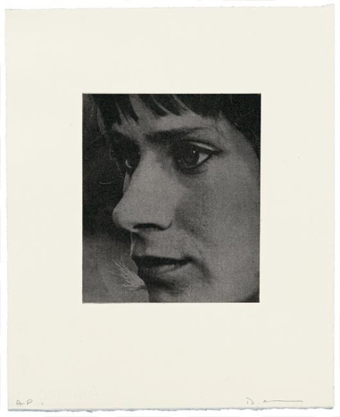 David Austen, Girl with green eyes, 2006