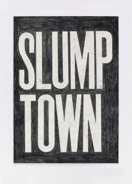 David Austen, Untitled (slump town) 10.3.16, 2016