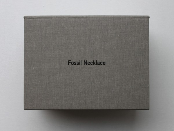 Katie Paterson, Fossil Necklace Postcard Edition