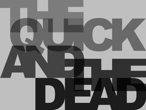 Kenny Hunter, The Quick And The Dead, 2010
