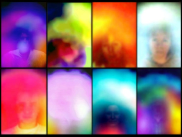"""Susan Hiller, Small Study for """"Homage to Marcel Duchamp"""", 2012"""