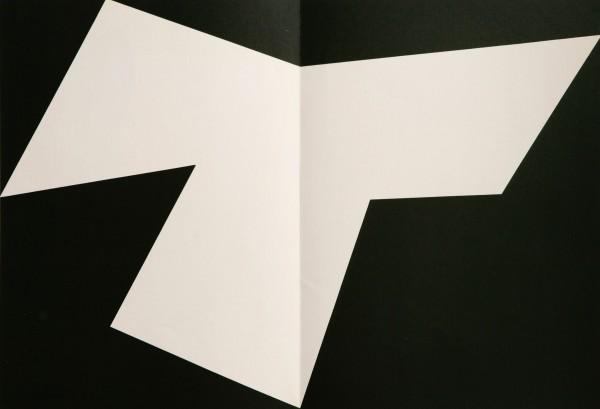 Ellsworth Kelly, Untitled - (from Derrière Le Miroir No.110), 1958