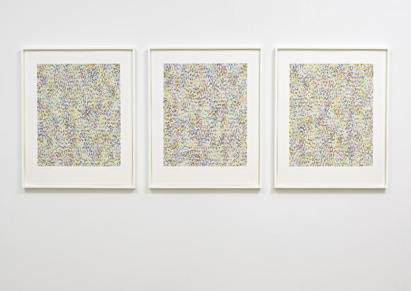 James Hugonin, Three Fluctuations in Contrary Rhythm (Parts I-III), 2009