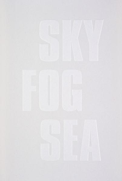Kay Rosen, Seascape, 2008