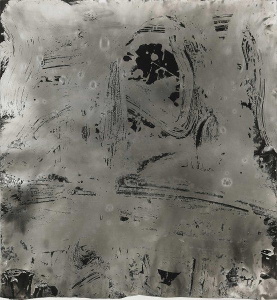 Wang Dongling 王冬龄, More than White, Mist 非白.云, 2013
