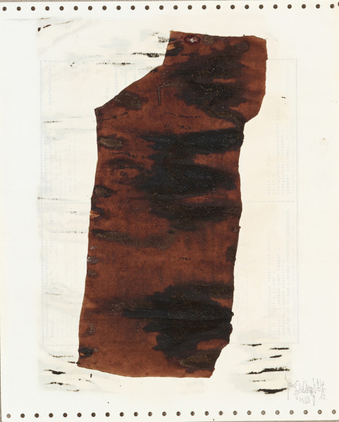 Yang Jiechang 杨诘苍, Soy Sauce Drawings 10 酱油画 10, 1988