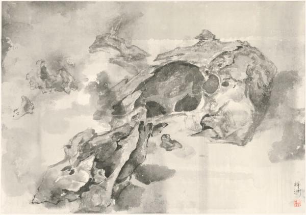 Tai Xiangzhou 泰祥洲, Coalescence of Frigid Vapors 云寒石气, 2016
