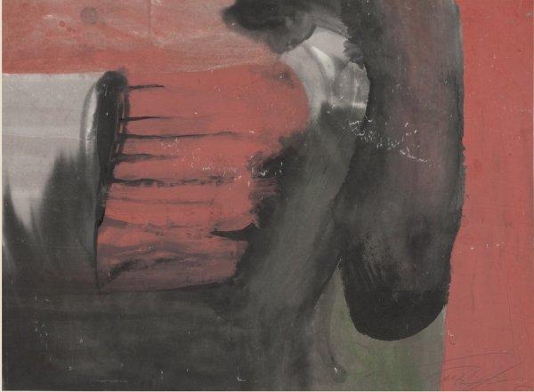 Zheng Chongbin 郑重宾, Ink Color Series No.4 墨彩系列4号, 1987