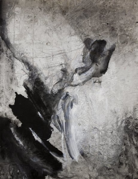Zheng Chongbin 郑重宾, Stained No. 5 墨迹5号, 2009