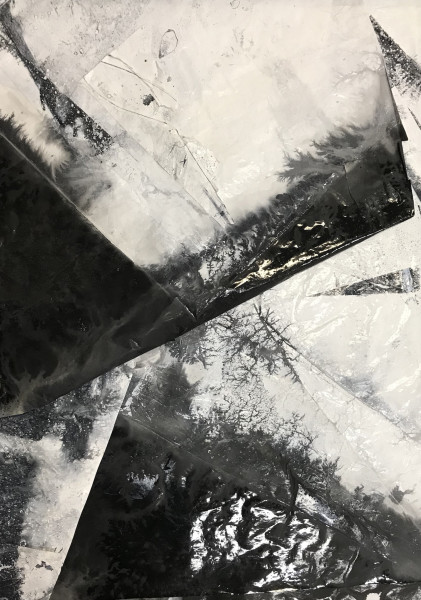Zheng Chongbin 郑重宾, Untitled No. 5 无题5号, 2018