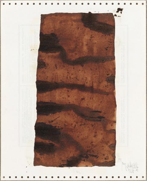 Yang Jiechang 杨诘苍, Soy Sauce Drawings 1 酱油画 1, 1988