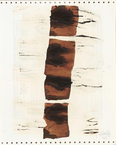 Yang Jiechang 杨诘苍, Soy Sauce Drawings 11 酱油画 11, 1988