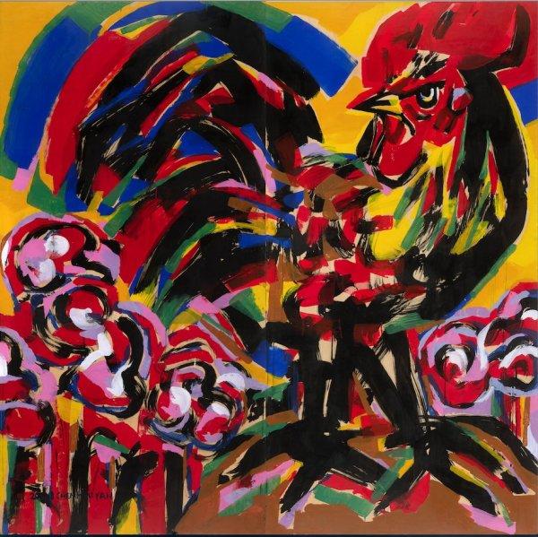 Chen Haiyan 陈海燕, Rooster No. 1 鸡系列No. 1, 2011