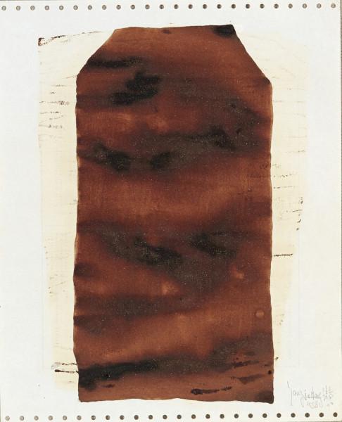 Yang Jiechang 杨诘苍, Soy Sauce Drawings 9 酱油画 9, 1988