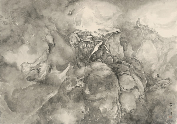Tai Xiangzhou 泰祥洲, Divine Illumination 洞彻神光, 2016