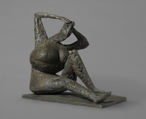 Anthony Caro Woman Arranging Her Hair I (Spring), 1955 Bronze h: 82 cm / 32 in d: 44 cm / 17 in
