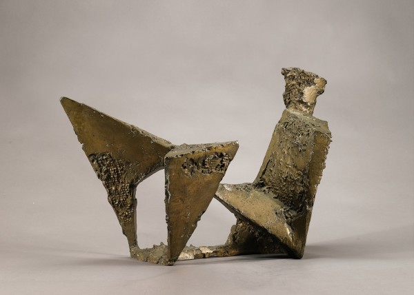 F E McWilliam Angular Figure, 1962 bronze h: 24 in / 61 cm w: 35 in / 89 cm