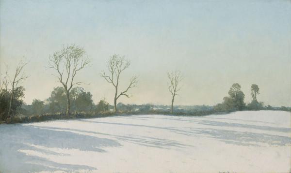 Algernon Newton, RA, Winter Shadows, 1940