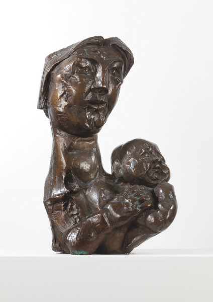 George Fullard Mother and Child, 1956 Bronze h: 68 cm / 26 in d: 37 cm / 14 in