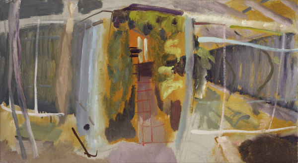 Ivon Hitchens Iping Greenhouse, c.1940 Oil on canvas 16 x 29 in / 40 x 73 cm