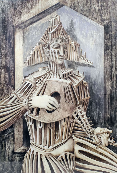 Man with Guitar , 1958