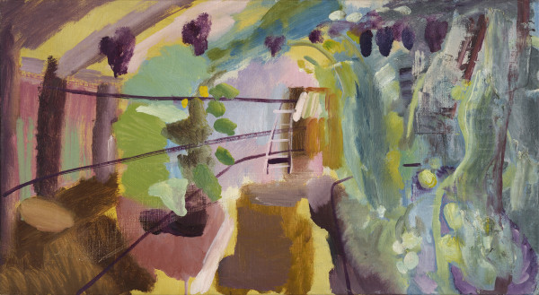Ivon Hitchens Greenhouse, Iping, c. 1940 oil on canvas 16 x 29 in / 40 x 73 cm