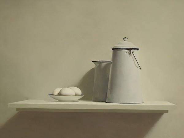 Helen Simmonds, Still Life with Duck Eggs