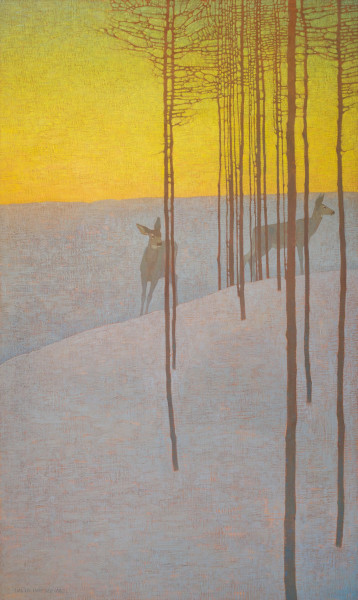 David Grossmann, In the Winter Dusk