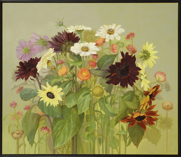 Jane Wormell, Late Summer Flowers, 2020