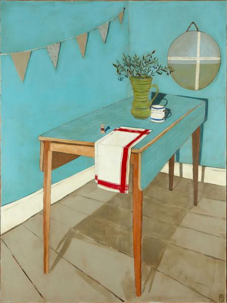 Jo Oakley, Blue Table