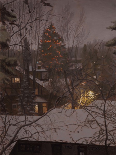 Harry Steen, Christmas Lights down Hill
