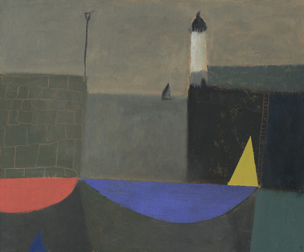 Nicholas Turner, Yellow Sail and Lighthouse
