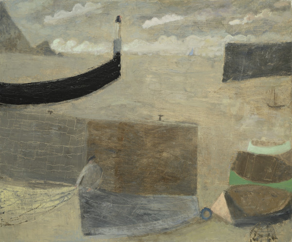 Nicholas Turner, Fisherman with Net