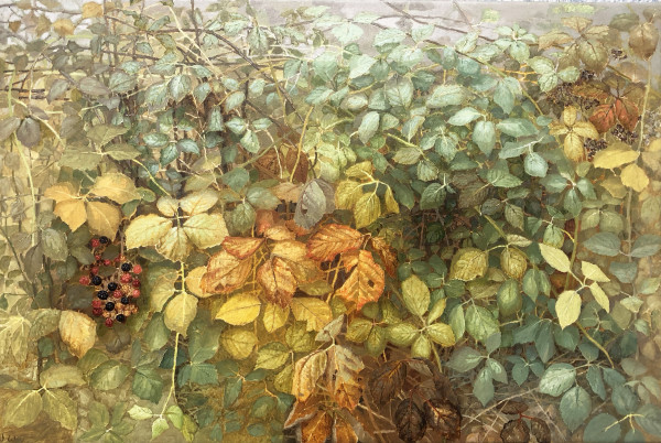 Jane Wormell, Autumnal Blackberries