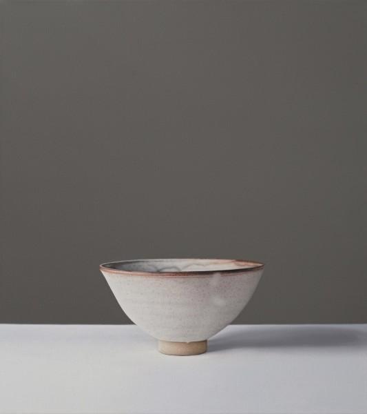 Jo Barrett Still Life of Bowl Oil on canvas 17.32 x 16.14ins (44 x 41cm)