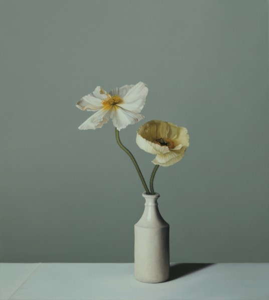 Jo Barrett, Still Life with Icelandic Poppies