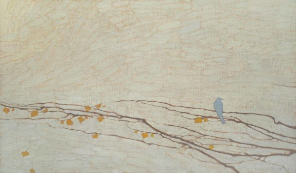 David Grossmann, Blue Bird and Branch Patterns